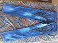 イタリアセレブオススメ・素敵刺繍&ユーズド加工薄手デニム (商品番号 262)