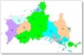 機能563:山口県地図色塗り