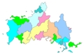白地図-山口県