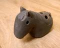 【小物入れ】ウマ 陶器製【お香立て】