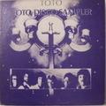 "TOTO / TOTO DISCO SAMPLER プロモ・オンリー12"""