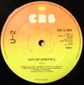U2 / OUT OF CONTROL