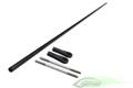 [HC235-S]Carbon Fiber Tail push rod Ø4 x Ø2,5 x 596