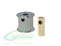 Aluminum Motor Pulley 18T (for 6/8mm motor shaft) - Goblin 770/Goblin 700 Competition [H0175-18-S]