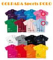 GOLPARA        スポーツポロシャツ