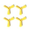 HQ-Prop 3045-3 DP Propeller YELLOW (2XCW, 2XCCW)