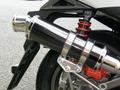 ウインドジャマーズ マフラー ブラックステンレス RACING125Fi