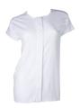 婦人介護肌着ホック付ワンタッチ半袖OB123(日本製)