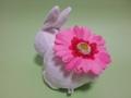 花うさぎ(ピンク)