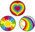 Beaming Rainbows Sticker