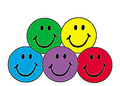 colorful smiles sticker