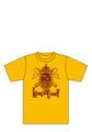ハマノヒロチカ「KING of CURRY Tシャツ」(ターメリック)