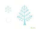 冬の木と雪
