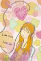 ポストカード「Love」/クロサキユキ