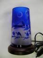 小型ランプ 青      (月の沙漠)