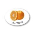 ZY-10 フルーツシール グレープフルーツ
