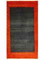 ギャベ「散歩の途中」ペルシャ手織アート