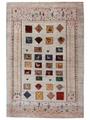 ギャベ「春」ペルシャ手織アート
