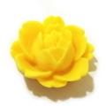 デコパーツ・マットローズ(黄色)