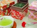 ミニ和染茶箱