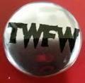 TWFW SILVER  METAL BADGE 小(直径25mm)