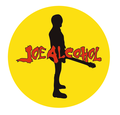 JOE ALCOHOL BADGE YELLOW(直径57mm)