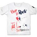 JAMF 10th anniv.JOE ALCOHOL VIVE LE ROCK T-Shirts RED&BLACK