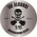 【防水】JOE ALCOHOL DEGENERATION BLUES ステッカー