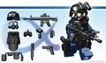 SWATアサルトマン:アルファー2装備セット