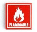 タイル:FLAMMABLE