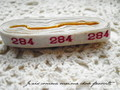 アンティーク*ナンバーテープ/284箱なし