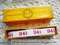 アンティーク*ナンバーテープ/341(1)
