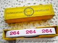 アンティーク*ナンバーテープ/264(1)