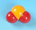 ふ)分子模型二酸化硫黄(30113)