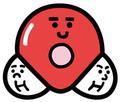 み)水分子くんマグネット(30201)