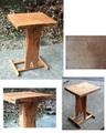 栗のサイドテーブル