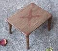 銅飾りのミニテーブル