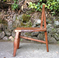 栗と楓の椅子