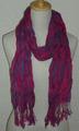 エジプト輸入スカーフ(チェック模様)