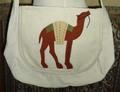 エジプト製ショルダーバッグ(ラクダ)カバー付