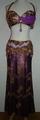 エジプシャン衣装(パープル金) FLW-E05