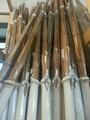 人気の竹刀20組セット:最高級「黒雲」古刀型:燻し39竹刀