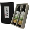 有機茶油 237g×2本【有機JAS認証/ユーロエコサート認証/USDA認証】《化粧箱入り》