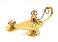 TZ1036 6インチ 真鍮製 アラジンランプ 装飾用