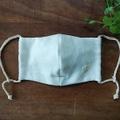 トリプルガーゼ×晒の生成り布マスク
