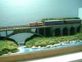 ミニらまワイド01  高千穂鉄道・綱ノ瀬橋梁(亀ケ崎駅~槇峰駅間)のある鉄道風景