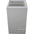 新品送料無料 MS-062G 三ツ星貿易 エクセレンス 冷凍庫 スライド型 ガラスショーケース
