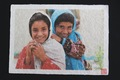 和紙プリントA4サイズ。アフガニスタンの少女。