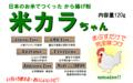 米カラちゃん120g(グルテンフリー唐揚げ粉)