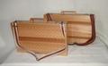 木製パソコンバッグ(ショルダーベルト付)